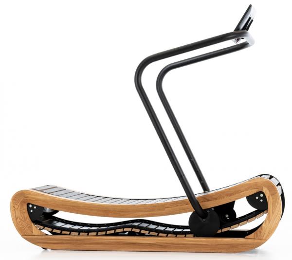 Sprintbok - Eiche - Laufband mit Eigenantrieb aus Holz