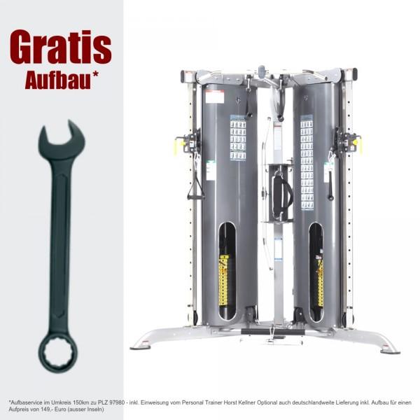 Tuff Stuff CXT-200 Multi-Functional-Trainer - Kabelzug inkl. Aufbau