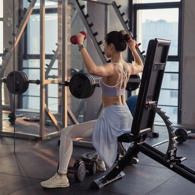 Training im hoteleigenen Fitnessraum