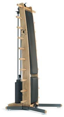 WeightWorkx - Esche - Kunstleder - Kraftstation aus Holz