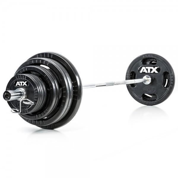 Langhantelsatz 140 kg 50 mm - Logo Gripper ATX®