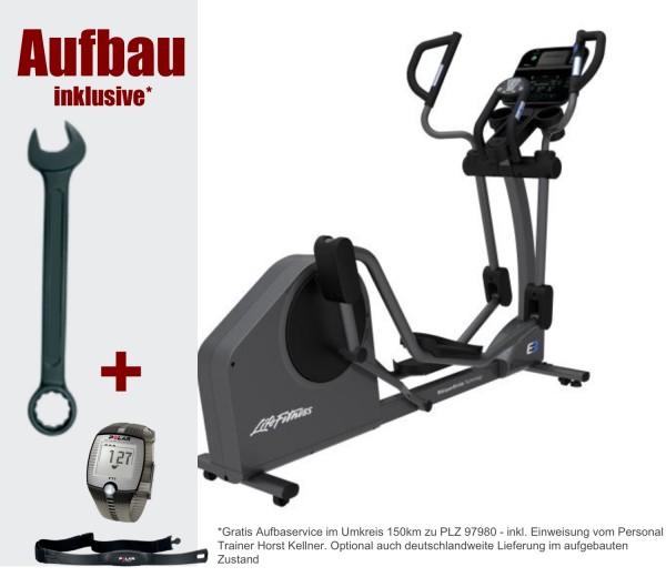 E3 Track Connect Crosstrainer inkl. Polar FT1 Pulsuhr. Aktuelles Modell von Life Fitness