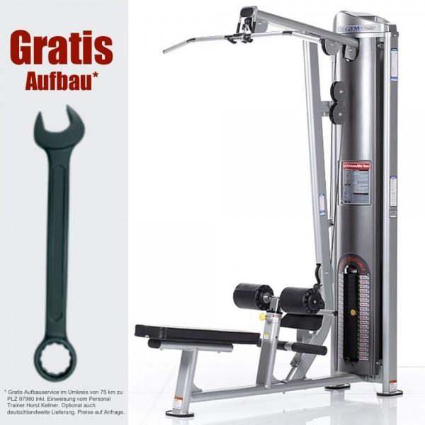 Dual Latzug und Ruderzug CG-7504 inkl. Gratis Aufbau - Fitness Station