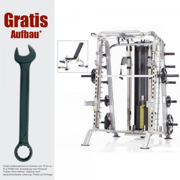 CSM-725WS inkl. GRATIS AUFBAU - Smith Machine - Fitness Station