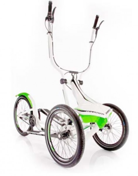 Mobiler Crosstrainer. Nuvinci Schaltung. Stepper/ Dreirad für Erwachsene