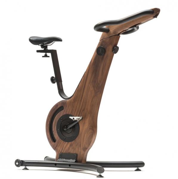 Bike - Nussbaum - Fahrradergometer - Holz Sitzfahrrad