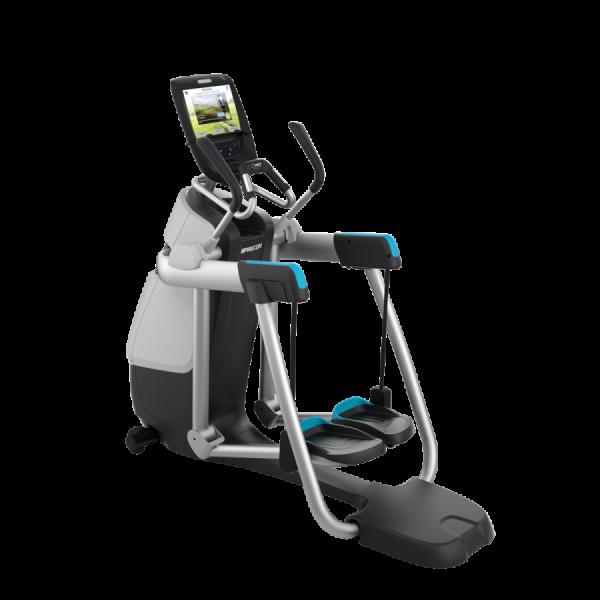 AMT 885 (grau) - Adaptive Motion Trainer ® Elliptical Crosstrainer, Stepper. Aktuelles Modell-C