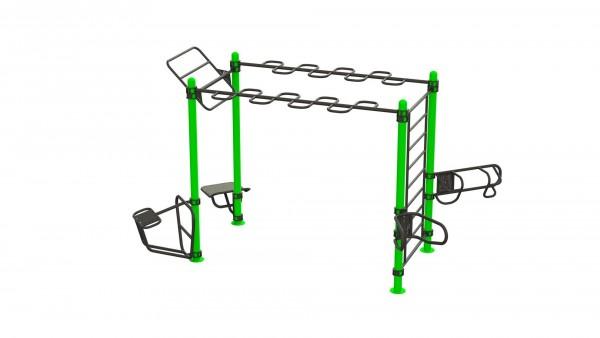 Outdoor Functional Complex - Eigengewicht-Trainingsstation - Fitnesspark für draußen