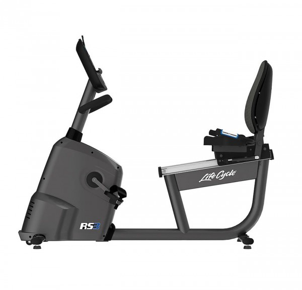 Lifecycle RS3 Go Liegeergometer inkl. Polar FT1 Pulsuhr