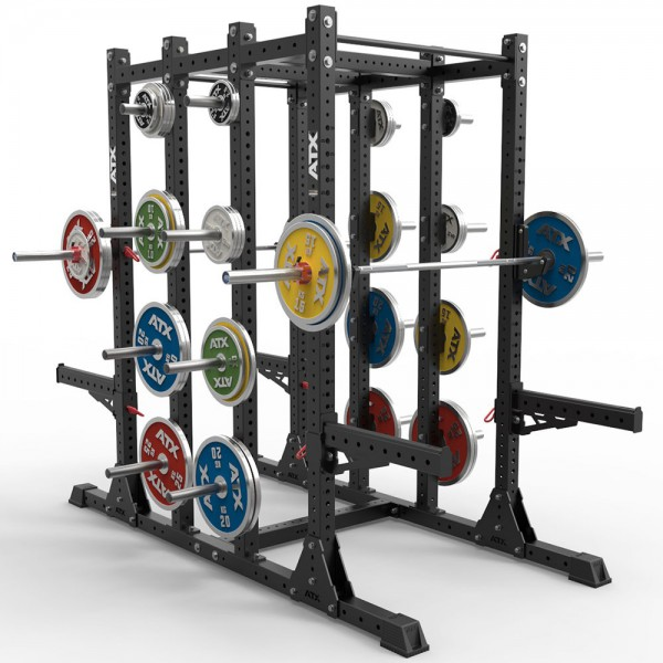 Half Rack Double Sided 240-F-II - Qualität Designed in Germany. Profiqualität. Functional Training